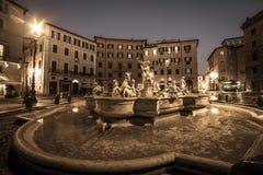 Rome, Italy: Piazza Navona Stock Photography
