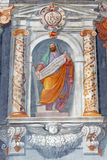 ROME, ITALY: The prophet Ezekiel fresco in church Basilica di San Vitale by Tarquinio Ligustri (1603). Stock Photo