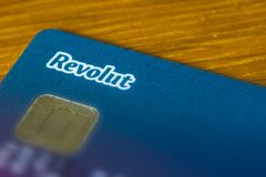 Rome / Italy - 10 04 2018: Revolut online banking royalty free stock photos
