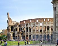 ROME ITALY roman Coliseum Royalty Free Stock Image