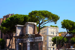 Rome, Italy. Roman Forum Stock Photo