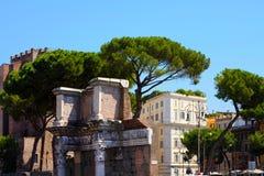 Rome, Italy. Roman Forum stock photo