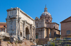 Rome.Italy. The Roman forum Royalty Free Stock Image