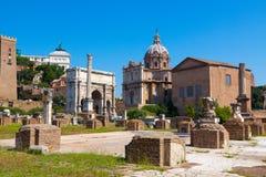 Rome.Italy. The Roman forum Stock Image