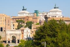 Rome. Italy. The Roman forum Royalty Free Stock Image