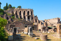 Rome. Italy. The Roman forum Royalty Free Stock Images