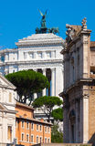 Rome. Italy. The Roman forum Royalty Free Stock Photography