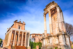 Rome, Italy - Roman Forum Stock Images