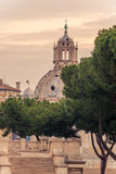 Rome, Italy: The Roman Forum. Old Town of the city Stock Photos