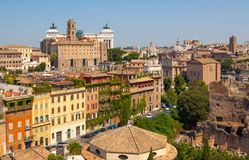 Rome. Italy. The Roman forum. The Roman forum. Ruins of ancient Rome Stock Images