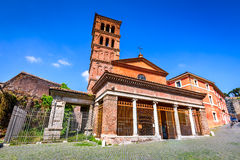 Rome, Italy - San Giorgio in Velabro Stock Photography