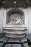 Rome, Italy: sculpture in ensemble of Quattro Fontane, Four Fountains Stock Images