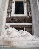 Rome, Italy: sculpture in ensemble of Quattro Fontane, Four Fountains Stock Photography