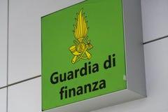 Italian Guardia di Finanza symbol stock image