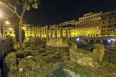 ROME , ITALY a shoot of largo di Torre argentina Royalty Free Stock Images