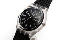 Rome, Italy 07.10.2020 - Swatch simple fashion swiss made quartz watch