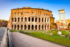 Rome, Italy - Theatre of Marcellus Stock Photography