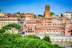 Rome, Italy - Trajan Market Royalty Free Stock Images