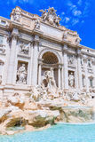 Rome, Italy. Trevi Fountain Fontana di Trevi stock photography
