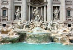Rome, Italy - Trevi fountain Royalty Free Stock Photos