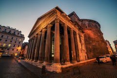 Rome, Italy at night Royalty Free Stock Photo
