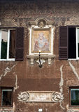 Rome. Italy. View of the Madonna del Latte Stock Photos