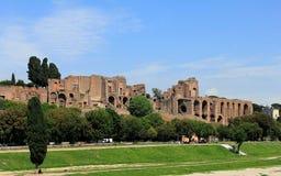Ruins of Roman Forum royalty free stock photo