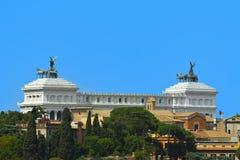 Rome, Italy - The Vittoriano. Monument in Piazza Venezia Stock Image