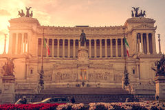 Rome, Italy: Vittoriano, Victor Emmanuel II Monument Royalty Free Stock Image
