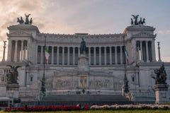 Rome, Italy: Vittoriano, Victor Emmanuel II Monument Stock Photography