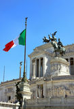 Rome, Italy - Vittorio Emanuele II monument detail royalty free stock images