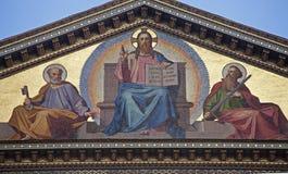 Rome - Jésus-Christ le professeur Image libre de droits