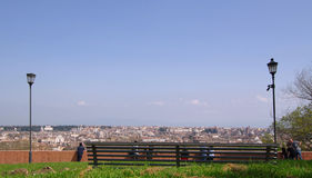 Rome from Janiculum top Royalty Free Stock Images