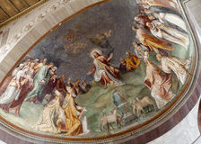 Rome - Jesus the Teacher - Santa Sabina Stock Photos