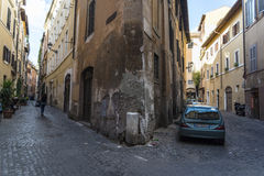 Rome keeps silent about road Royalty Free Stock Photos