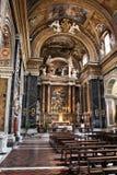 Rome kyrka royaltyfri foto