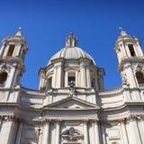 Rome kyrka fotografering för bildbyråer