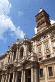 Rome kyrka arkivbild
