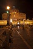 Rome. l'Italie. Castel Sant'angelo Image libre de droits