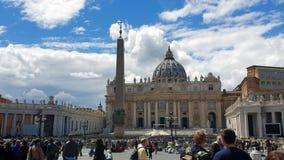 rome l'Italie 21 mai 2019 le secteur devant Vatican La destination de touristes la plus populaire à Rome Grands fl?aux banque de vidéos