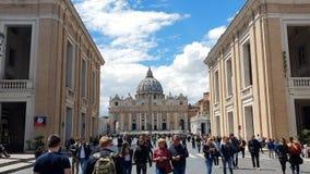 rome l'Italie 21 mai 2019 le secteur devant Vatican La destination de touristes la plus populaire à Rome Grands fl?aux clips vidéos