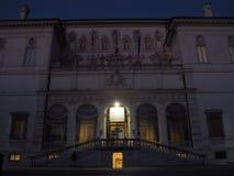 Rome la galerie de Borghese images libres de droits