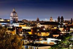 Rome la nuit Images libres de droits