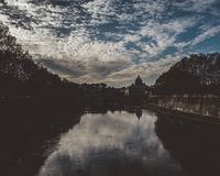Rome landscape. From a bridge Royalty Free Stock Images