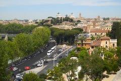 Rome landscape Stock Images