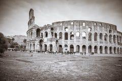 Rome, Lazio, Italië, December 2018: Colosseum of Coliseum, ook als Flavian Amphitheatre wordt bekend, zijn een ovale amphitheatre royalty-vrije stock fotografie