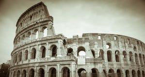 Rome, Lazio, Italië, December 2018: Colosseum of Coliseum, ook als Flavian Amphitheatre wordt bekend, zijn een ovale amphitheatre stock foto