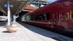Italo arriving at Tiburtina Station