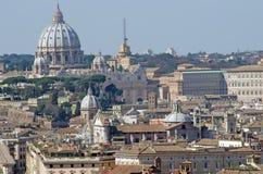 rome linia horyzontu Obraz Royalty Free