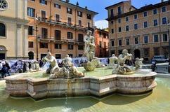 Piazza Navona, Rome. Italië Royalty-vrije Stock Fotografie